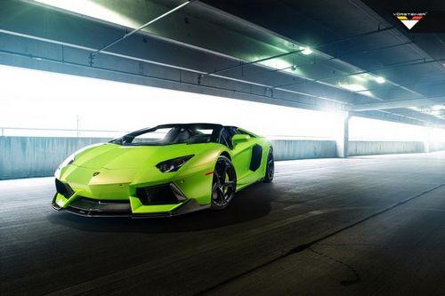 Lamborghini aventador-v roadster the hulk от vorsteiner