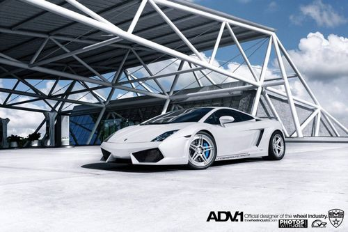 Lamborghini gallardo twin-turbo на дисках adv.1 wheels