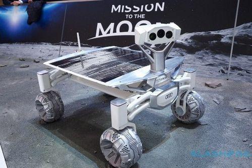 Луноход audi lunar quattro отправится в космос