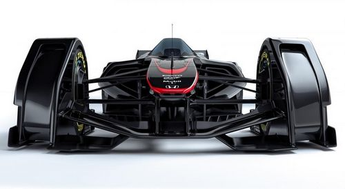 Mclaren продемонстрировал автомобиль формула 1 будущего