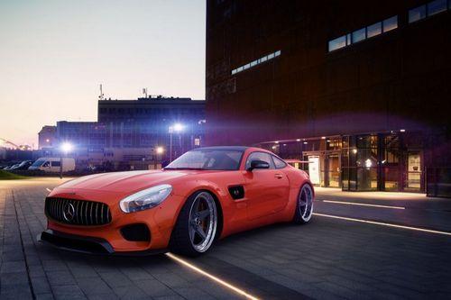 Mercedes-amg gt s от тюнинг-ателье gwa