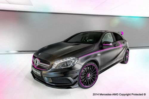 Mercedes-benz a45 amg erika от amg performance studio