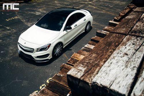 Mercedes-benz cla 250 в эксклюзивном тюнинге mc customs