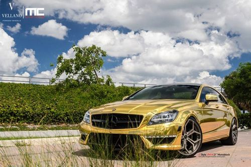 Mercedes-benz cls63 amg в тюнинге mc customs