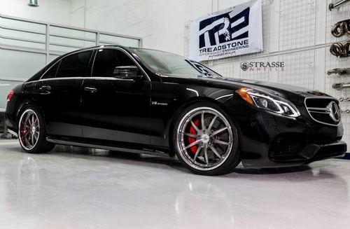 Mercedes-benz e63 amg s от titanio automotive
