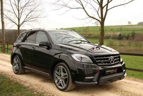 Mercedes-benz ml63 amg в обвесе expression motorsport