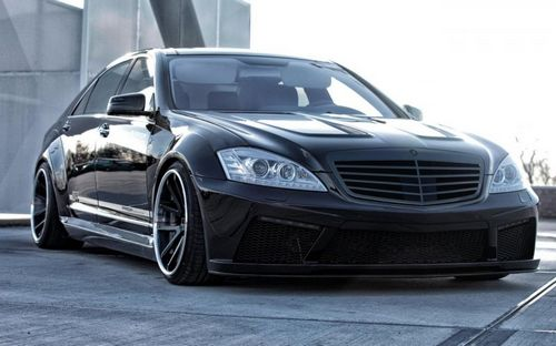 Mercedes-benz s-class (w221) в обвесе prior design