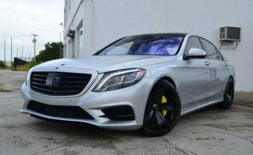 Mercedes-benz s550 в исполнении mc customs