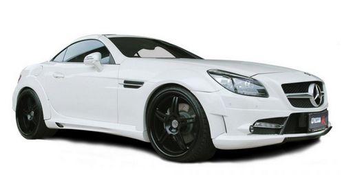 Mercedes-benz slk r version от expression motorsport