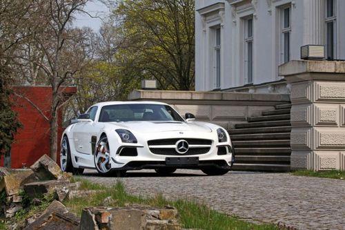 Mercedes-benz sls amg black series в обвесе sga