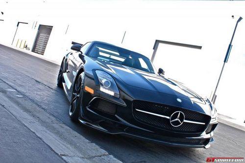 Mercedes-benz sls amg в тюнинге world motorsports