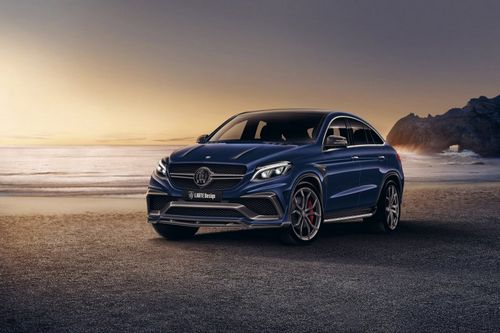 Mercedes gle amg coupe от larte design