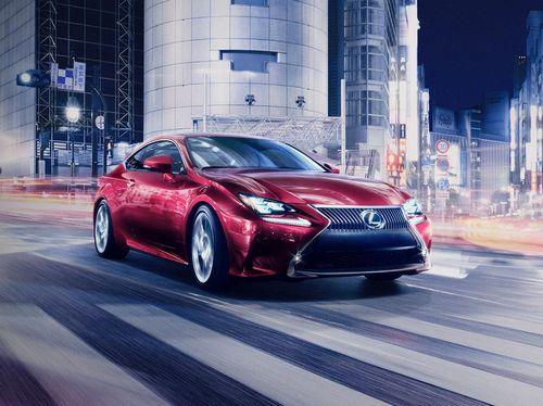 Мировая премьера нового купе lexus rc состоится в конце ноября
