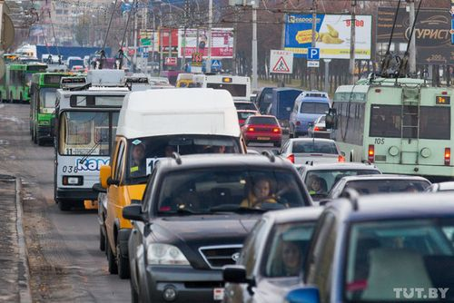 Могилев перегружен автотранспортом - проблемой вновь занялась прокуратура