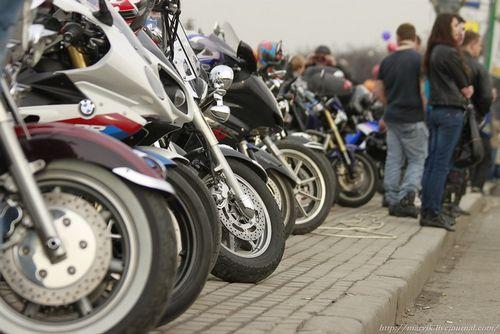 Мотоциклисты киева отметились в статистике дтп