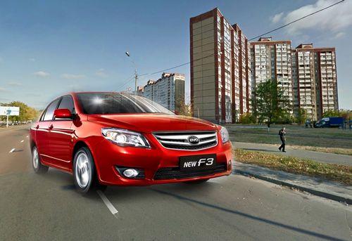 На троещине представят новый китайский седан byd