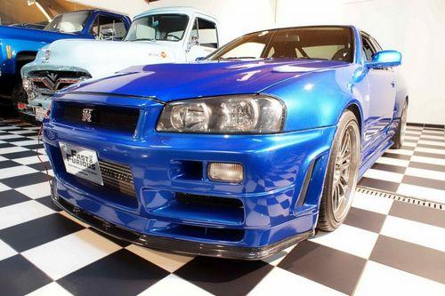 Nissan skyline gt-r из «форсаж 4» продается за 1 000 000 евро