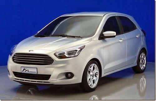 Новый ford ka: одним бюджетным хетчбэком больше