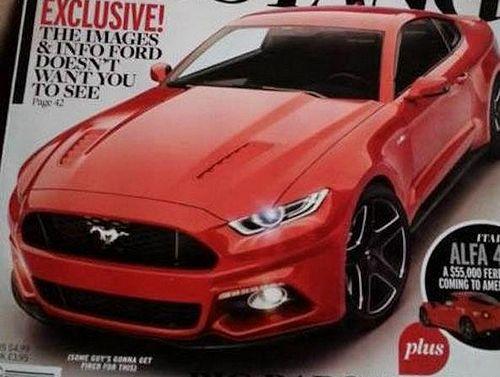 Новый ford mustang «придуман» американцами