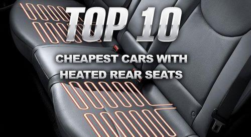 Обогрев задних сидений, список самых дешевых автомобилей с этой опцией