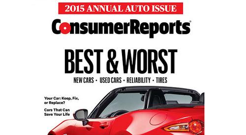 Отчет consumer reports: лучшие и худшие бренды в 2015 году