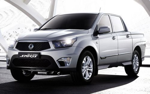 Пикап ssangyong new actyon sports