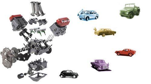 Почему двигатели v4 редко встречаются в автомобилях?