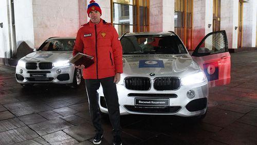 Почему российские олимпийцы не получили bmw, которые они ожидали