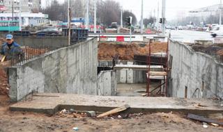 Подземный пешеходный переход на пересечении рокоссовского и плеханова откроют во втором квартале 2013 года