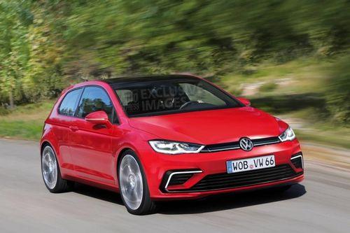 Появилась первая информация о новом volkswagen golf