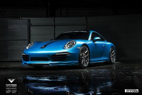 Porsche 911 carrera s в доработке vorsteiner