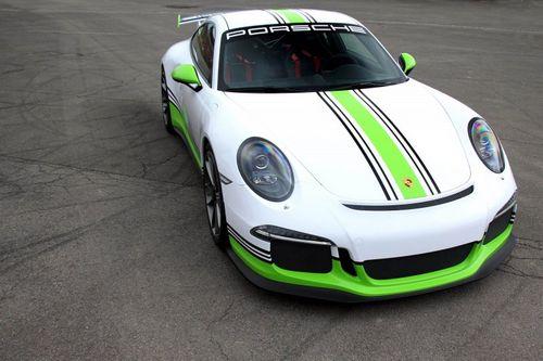 Porsche 911 gt3 в исполнении fostla