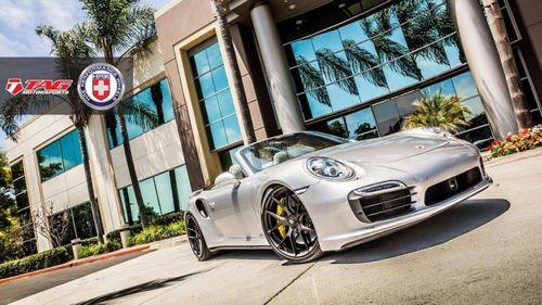 Porsche 911 turbo s cabriolet от tag motorsport