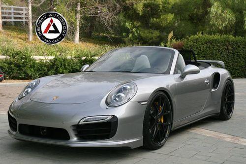 Porsche 991 turbo s cabriolet от inspired autosport