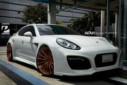 Porsche panamera в обвесе techart grand gt от prodrive