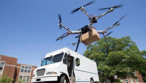 Правительство хочет легализовать грузоперевозки дронами доконца 2018 года - «транспорт»