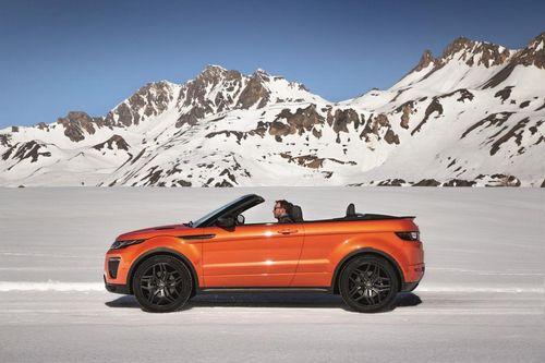 Представлен range rover evoque с кузовом кабриолет (видео)