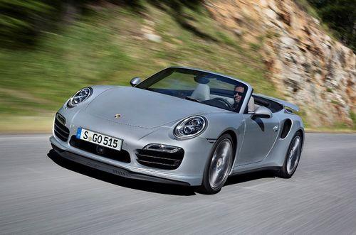 Представлены новые кабриолеты porsche 911 turbo