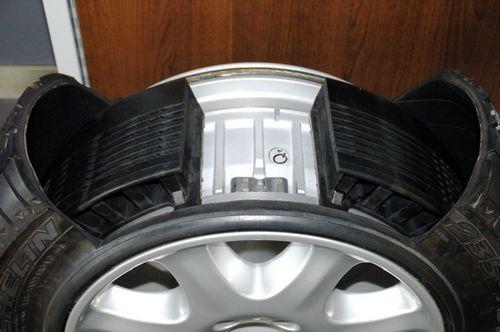 Противоспусковые шины run-flat признаны ненадежными