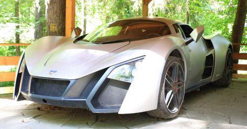 Прототипы и спорткары marussia начали продавать через объявления