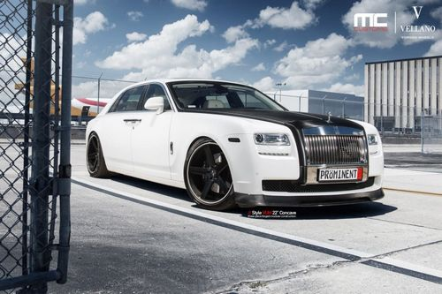 Rolls-royce ghost в тюнинге mc customs
