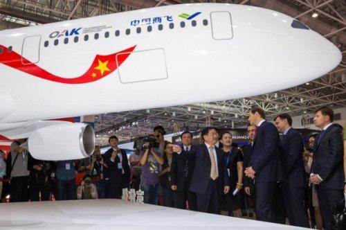 Россия икитай инвестируют вновый пассажирский самолет $13 млрд - «транспорт»