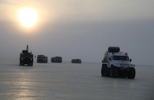 Российская военная арктическая экспедиция достигла острова котельный - «транспорт»