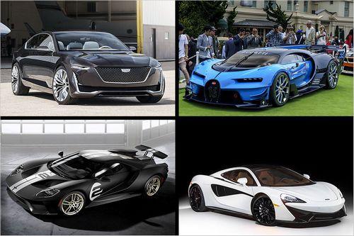 Самые потрясающие автомобили с pebble beach concours d'elegance'elegance 'elegance