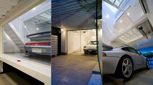 Самый дорогой и роскошный гараж в мире для porsche