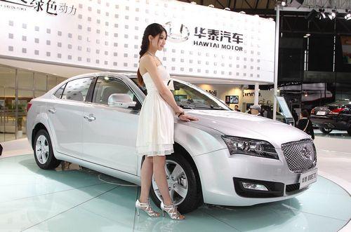 Шанхай-2013: седан hawtai рвётся в европу