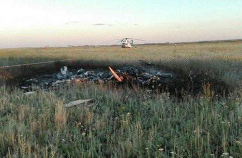 Скр рассматривает две версии крушения самолета под оренбургом - «транспорт»