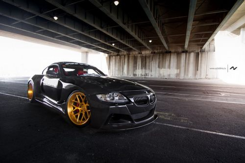 Slek designs доработал bmw z4m coupe (e86)