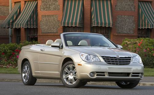 Солидный кабриолет chrysler sebring