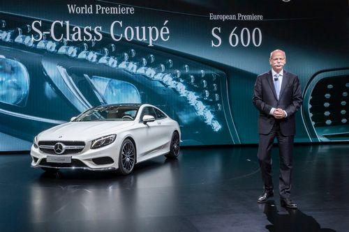Состоялась мировая премьера mercedes-benz s-class coupe (много фото)